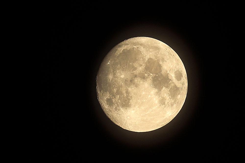 Eigenes Mondfoto
