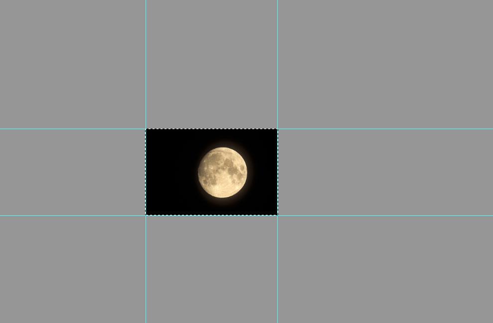 Das Mondfoto nachbearbeiten