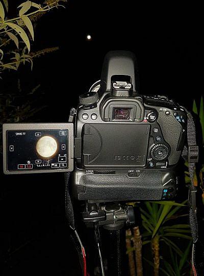 Den Mond fotografieren