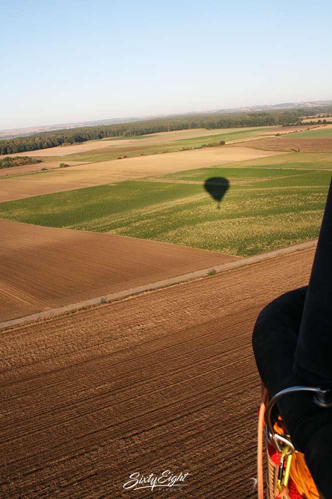 Ballonfahrt über Neustadt a.d. Aisch