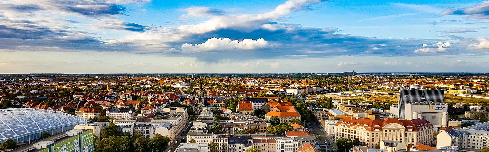 Leipzig von oben