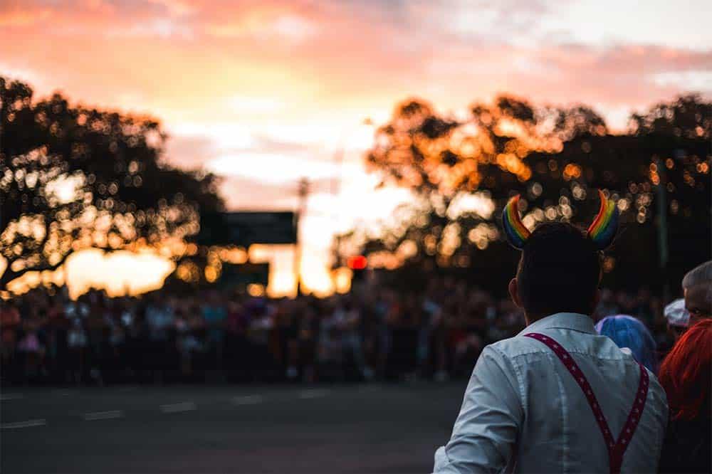 Fotomotive Menschenmengen